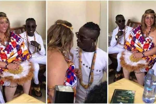 Ghanian music artist Patapaa gets married to his girl friend